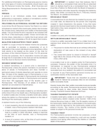 "Form PA-41 ""Pa Fiduciary Income Tax Return"" - Pennsylvania, Page 7"
