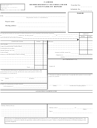 "Form OF1129 ""Cashier Reimbursement Voucher and/Or Accountability Report"""