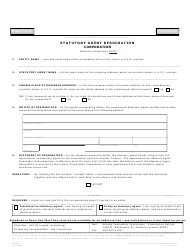 "Form C029.003 ""Statutory Agent Resignation Corporation"" - Arizona"