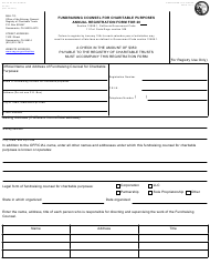 """Form CT-3CF """"Annual Registration Form - Fundraising Counsel"""" - California"""