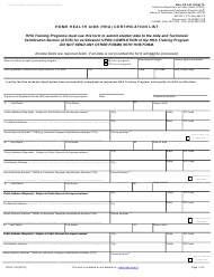 "Form CDPH183 ""Home Health Aide (Hha) Certification List"" - California"
