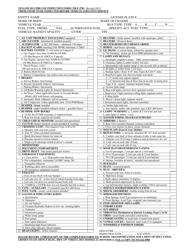 "Form TR-F-27B ""Yellow Bus Pre-use Inspection Form"" - Iowa"