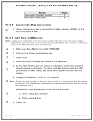 """Student Locator (Ssid) Lea Notification Set up"" - Iowa"