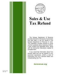 "Form ST-21 ""Kansas Sales and Use Tax Refund Application"" - Kansas"