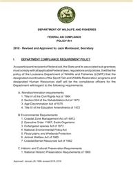 """Attachment A """"Discrimination Complaint Form"""" - Louisiana"""