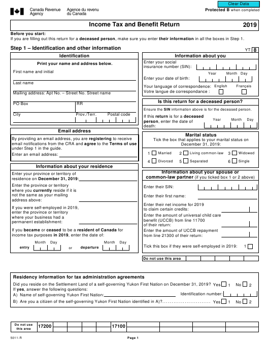 form 5011r download fillable pdf or fill online income