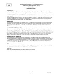 """Form A-5 """"Municipality Land Use Change Tax Bill"""" - New Hampshire, Page 4"""
