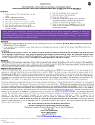 """Form BPVC-003 """"Application for Stationary, Power and Refrigeration Engineer, Boiler and Special Operator License"""" - New Jersey, Page 2"""