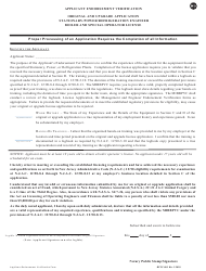 """Form BPVC-003 """"Application for Stationary, Power and Refrigeration Engineer, Boiler and Special Operator License"""" - New Jersey, Page 5"""