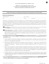"""Form BPVC-003 """"Application for Stationary, Power and Refrigeration Engineer, Boiler and Special Operator License"""" - New Jersey, Page 7"""