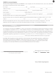 """Form BPVC-003 """"Application for Stationary, Power and Refrigeration Engineer, Boiler and Special Operator License"""" - New Jersey, Page 8"""