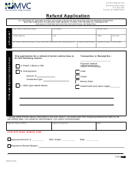 "Form RU9 ""Refund Application"" - New Jersey"