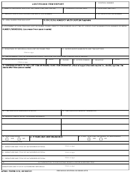 "AFMC Form 310 ""Lost/Found Item Report"""