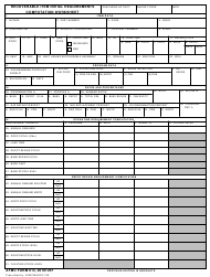 "AFMC Form 614 ""Recoverable Item Initial Requirements Computation Worksheet"""