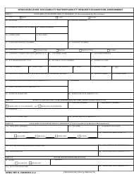 "AFMC IMT Form 8 ""Gfm/Loan/Lease Availability/Supportability Request/Acquisition Assessment"""