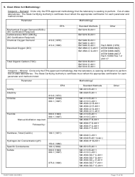 """DHEC Form 2802 """"Application for Environmental Laboratory Certification"""" - South Carolina, Page 12"""