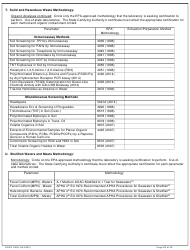 """DHEC Form 2802 """"Application for Environmental Laboratory Certification"""" - South Carolina, Page 28"""