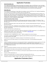 """DHEC Form 2802 """"Application for Environmental Laboratory Certification"""" - South Carolina, Page 31"""