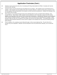 """DHEC Form 2802 """"Application for Environmental Laboratory Certification"""" - South Carolina, Page 33"""