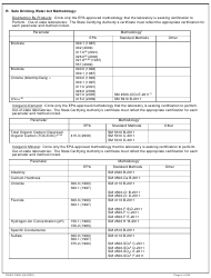 """DHEC Form 2802 """"Application for Environmental Laboratory Certification"""" - South Carolina, Page 4"""