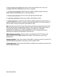 """DHEC Form 3871 """"Notification of Ownership Change for Underground Storage Tanks"""" - South Carolina, Page 4"""