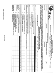 "DHEC Form 3185 ""Walkthrough Inspection Checklist/Operator Log"" - South Carolina"