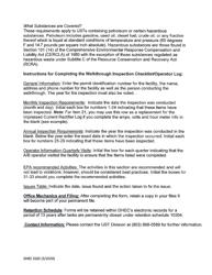 "DHEC Form 3185 ""Walkthrough Inspection Checklist/Operator Log"" - South Carolina, Page 6"
