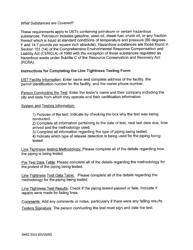"DHEC Form 3315 ""Line Tightness Testing"" - South Carolina, Page 4"
