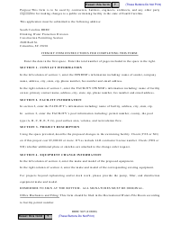 """DHEC Form 3627 """"Swimming Pool Change Order Request Form"""" - South Carolina, Page 2"""
