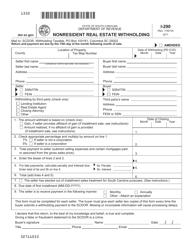 "Form I-290 ""Nonresident Real Estate Withholding"" - South Carolina"