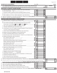 "Form SC1040 ""Individual Income Tax Return"" - South Carolina, Page 2"