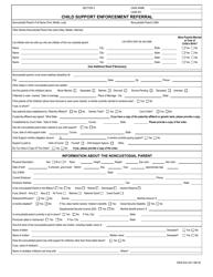 "Form DSS-EA-231 ""Child Support Enforcement Referral"" - South Dakota"