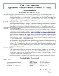 """VT Form PVR-322 """"Application for Assessment of Parcel Under 10 V.s.a. 6306(B)"""" - Vermont"""