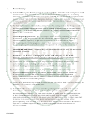 """""""Application to Possess, Propagate, Buy and Sell Certain Wildlife in Virginia (23 - Prsl) - Wildlife"""" - Virginia, Page 6"""
