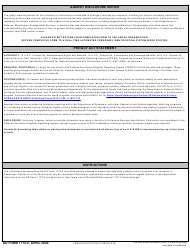 """DD Form 1172-2 """"Application for Identification Card/DEERS Enrollment"""", Page 2"""