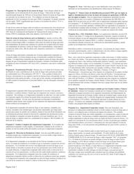 """ATF Formulario 4473 (5300.9) """"Registro De Transaccion De Armas De Fuego"""" (Spanish), Page 4"""