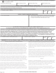 """ATF Form 4473 (5300.9) """"Firearms Transaction Record"""", Page 3"""