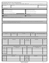"NAVPERS Form 5602/7 ""Milpersman Review and Change Request"""