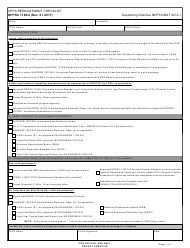 "Form NPPSC1160/2 ""Cppa Reenlistment Checklist"""