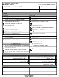 "Form NPPSC1900/2 ""Nppsc Separations Checklist"""
