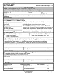 """Form NPPSC7000/2 """"Advance Bah Request"""""""