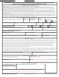 "AE Form 190-6D ""Application to Conduct Fbi National Instant Criminal Background Check"""
