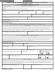 "AE Form 25-1J ""Army in Europe Landwarnet Remote-Access Request - Category 2"""