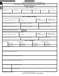 "AE Form 25-1N ""Authorized Service Interruption Request Form"""