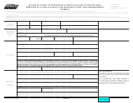 """Form REG684 """"Notice of Intent to Dispose of a Vehicle Valued at 500 or Less Removed by a Public Agency for Reasons Other Than Abandonment"""" - California"""