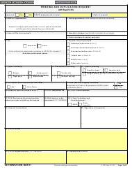 "AE Form 25-30B ""Printing and Duplication Request"""
