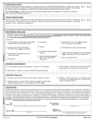 "Form MV-82 ""Vehicle Registration/Title Application"" - New York, Page 2"