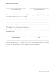 """Fmla Request Form"", Page 2"