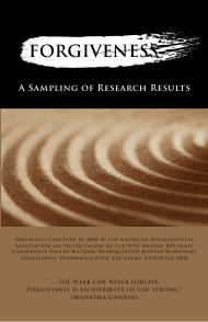 """""""Forgiveness: a Sampling of Research Results - American Psychological Association"""""""