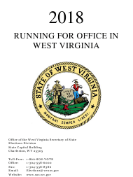 """Running for Office in West Virginia"" - West Virginia, 2018"